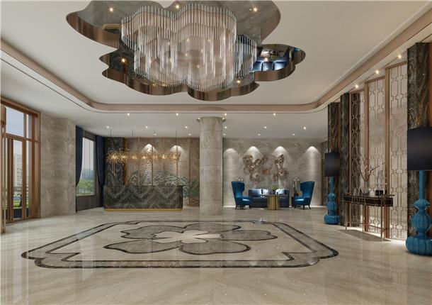 紅寺堡酒店裝修 紅寺堡酒店裝修設計 镹臻設計