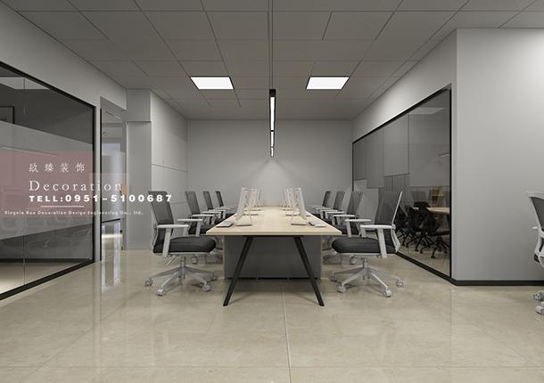 银川办公室装修|银川办公室装修设计|镹臻设计