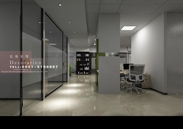 銀川辦公室裝修|銀川辦公室裝修設計|镹臻設計
