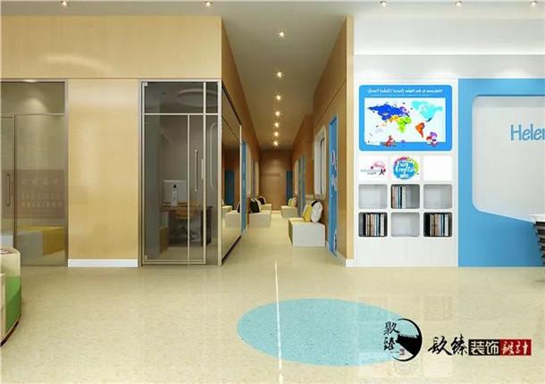 銀川培訓學校裝修|銀川培訓學校裝修設計|镹臻設計